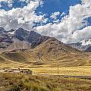 Andes Mountains - Peru Art Print