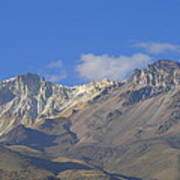 Andes Mountains 1 Art Print