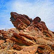 Andreas Canyon Art Print