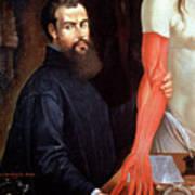 Andreas Vesalius Art Print