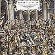 Andreas Vesalius Teaching Art Print