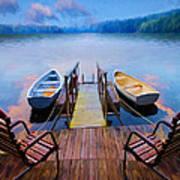 Andre's Dock Art Print