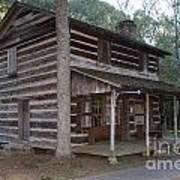 Andrew Logan Log Cabin Ninety Six National Historic Site Art Print