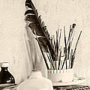 Andrew's Feather Art Print