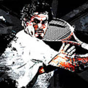 Andy Murray Art Print by The DigArtisT