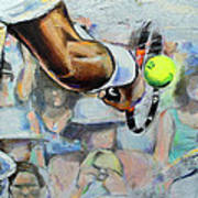Andy Murray - Wimbledon 2013 Art Print