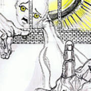 Angel Art - The Helping Hand Art Print