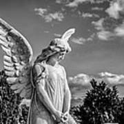 Angel At The Heredia General Cemetery Art Print