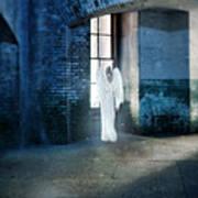 Angel At Window Art Print