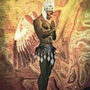 Angel Cabaret Art Print