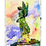 Angel Colors Art Print