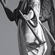 Angel Gabriel With Trumpet Art Print