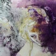 Angel In Chiaroscuro Art Print
