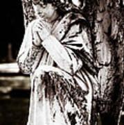 Angel In Prayer Art Print