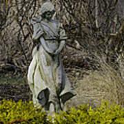Angel In The Garden Art Print