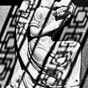 Angel In The Shadows 2 Art Print