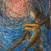 Angel Moon I Art Print