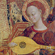 Angel Musician Art Print
