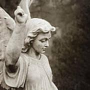 Angel Of Comfort Print by Terry Rowe