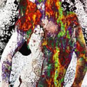 Angel Of Debris Art Print