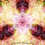 Angel Of The Healing Heart Art Print