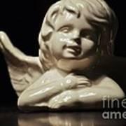 Angel On The Table Art Print