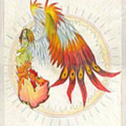 Angel Phoenix Art Print