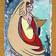Angel Playing For Us No1 Art Print
