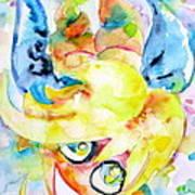 Angel Sala Bin Art Print