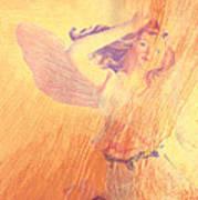 Angel Time  Art Print