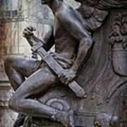 Angel With His Sword Art Print