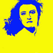 Angela Torn By Art Print