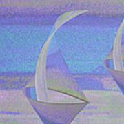 Angelfish3 Art Print