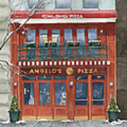 Angelo's On 57th Street Art Print