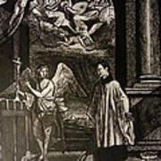 Angels And Saints Art Print