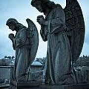 Angels In Prayer Art Print