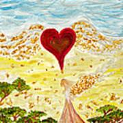 Angels Journey Art Print