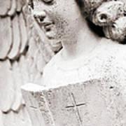 Angels Prayers And Miracles Art Print