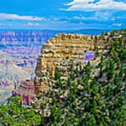 Angel's Window At Cape Royal On North Rim Of Grand Canyon-arizona Art Print