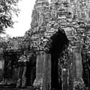 Angkor Thom East Gate 01 Art Print