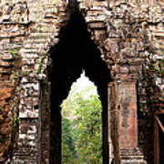Angkor Thom East Gate 02 Art Print