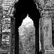 Angkor Thom East Gate 03 Art Print