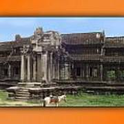 Angkor Wat Cambodia 1 Art Print