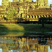Angkor Wat Reflections 02 Art Print