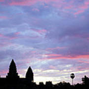 Angkor Wat Sunrise 02 Art Print