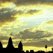 Angkor Wat Sunrise 03 Art Print