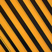 Angled Stripes Art Print