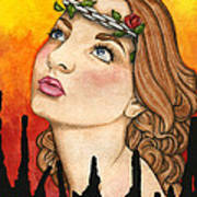 Anima Sola Art Print by Nora Blansett