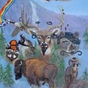 Animal Equality Art Print