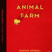 Animal Farm Book Cover Poster Art 2 Art Print